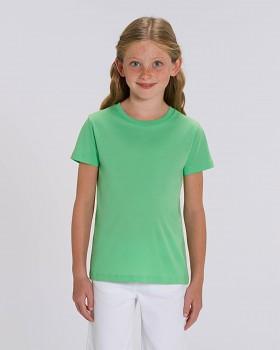 MINI CREATOR dětské tričko s krátkými rukávy ze 100% biobavlny - zelená chameleon