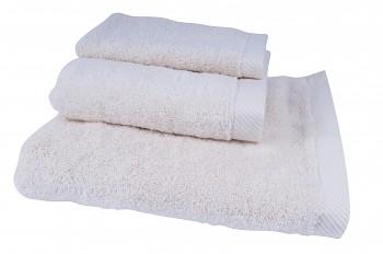 BIO ručník ze 100% biobavlny 50 x 100 cm - přírodní, bordó, tm. modrá, zelená, šedá lila