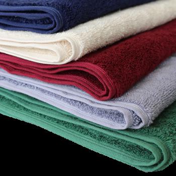 BIO ručník ze 100% biobavlny 30x50 cm - přírodní, bordó, tmavě modrá, zelená, šedá lila