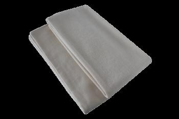 BIO ručník do sauny ze 100% biobavlny 40x80 cm - přírodní, béžová, modrá denim, šedá