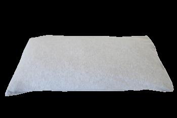 povlak na polštář 40x80 cm šedá melange
