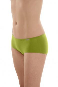 Comazo Earth Dámské bokové kalhotky panty z biobavlny - zelená kiwi