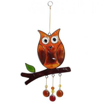 SOVA fair trade závěsná vitrážová dekorace