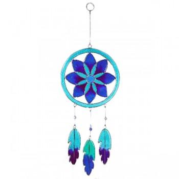 DREAMCATCHER fair trade závěsná vitrážová dekorace