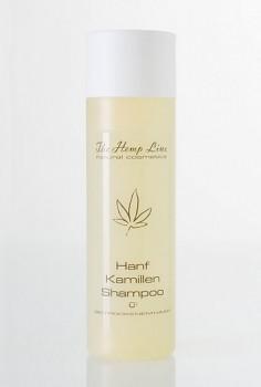 HempLine konopný šampon na suché vlasy s heřmánkem - 200 ml