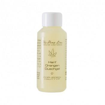 HempLine konopný sprchový gel s pomerančem - 50 ml
