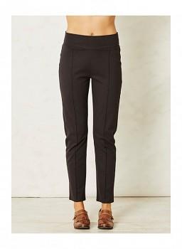 MIMI dámské kalhoty z biobavlny - tmavě šedá carbon