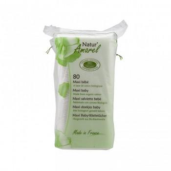 Dětské čistící tampony maxi bebe - 60 ks