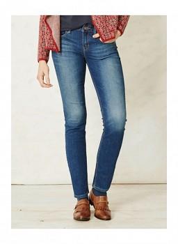 QUEENIE DYE dámské džíny z biobavlny