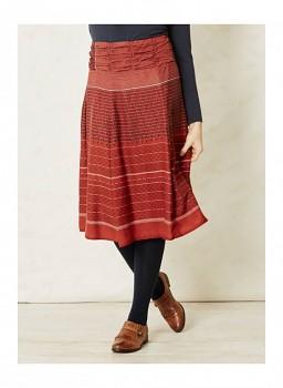 INGA RAE dámská modalová sukně - červená rust