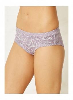 ELLY dámské bambusové kalhotky (bikini) - lila