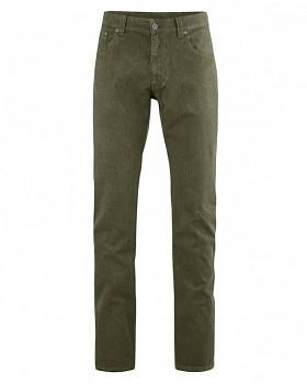 JEROME pánské džíny z konopí a biobavlny - khaki wolf