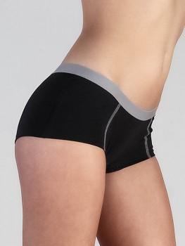 BOY dámské kalhotky (boxerky) z biobavlny - černá