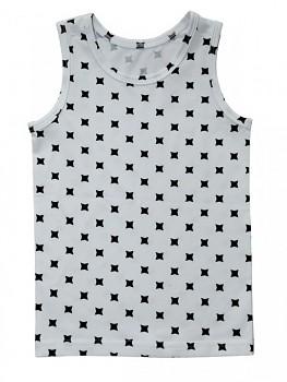 Albero dívčí spodní košilka z biobavlny - bílá