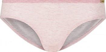 Comazo Earth Dámské pruhované kalhotky jazz-panty z biobavlny - růžová rose