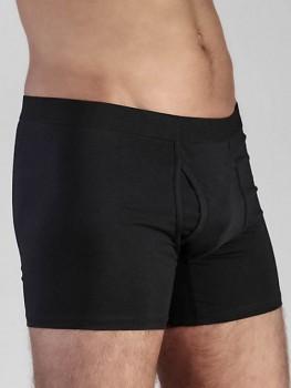Albero pánské boxerky z biobavlny - černá