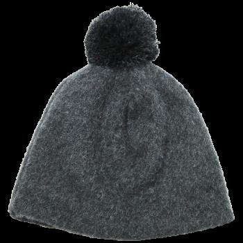 OLE unisex fleesová čepice ze 100% bio merino vlny - světle šedá fels
