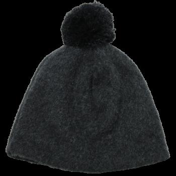 OLE unisex fleesová čepice ze 100% bio merino vlny - tmavě šedá antracit