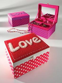LOVE šperkovnice