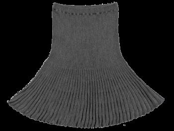 SPICKEL dámská sukně ze 100% bio merino vlny - světle šedá fels
