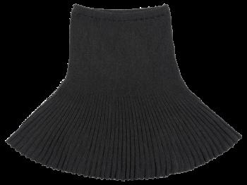 SPICKEL dámská sukně ze 100% bio merino vlny - tmavě šedá antracit