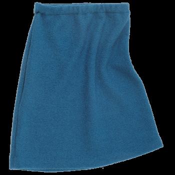 KREPP dámská sukně z vlněného buklé - modrá pacific