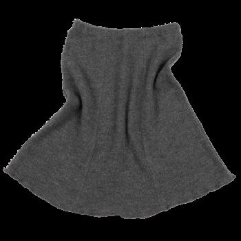 SWING dámská sukně z vlněného buklé - světle šedá fels