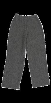 KREPP dámské teplákové kalhoty z vlněného buklé - světle šedá fels