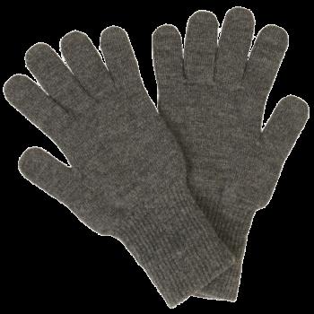 REIFF prstové rukavice ze 100% bio merino vlny - světle šedá fels