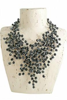HEMATIT korálkový náhrdelník