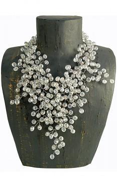 CRYSTAL korálkový náhrdelník