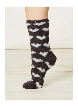 IMOGEN dámské ponožky z recyklovaného polyesteru - tmavě šedá uhlová