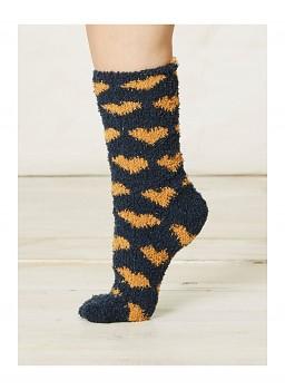 IMOGEN dámské ponožky z recyklovaného polyesteru - modrá navy