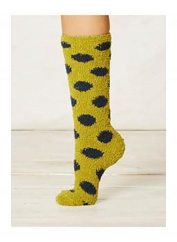 PURBECK dámské ponožky z recyklovaného polyesteru - lichen