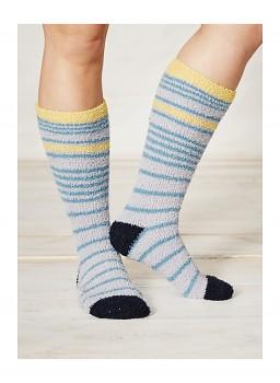 SHAGGY dámské ponožky z recyklovaného polyesteru - cloud