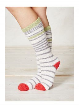 SHAGGY dámské ponožky z recyklovaného polyesteru - sand