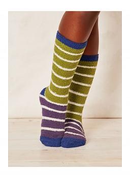 WILLOEMI dámské ponožky z recyklovaného polyesteru - aniseed