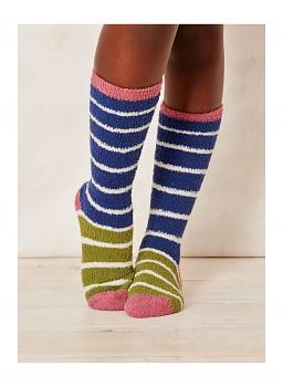 WILLOEMI dámské ponožky z recyklovaného polyesteru - indigo