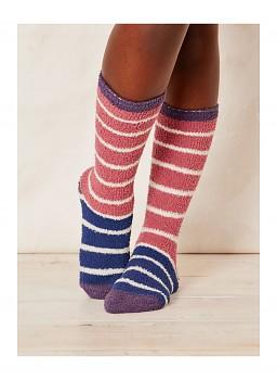 WILLOEMI dámské ponožky z recyklovaného polyesteru - magenta