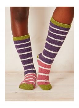 WILLOEMI dámské ponožky z recyklovaného polyesteru - violet