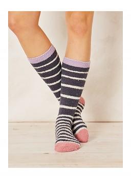 BANGORA dámské ponožky z recyklovaného polyesteru - uhlová