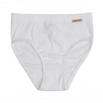 Comazo Earth dívčí kalhotky ze 100% biobavlny - bílá