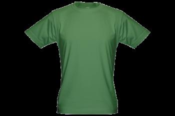 Pánské bambusové tričko zelené