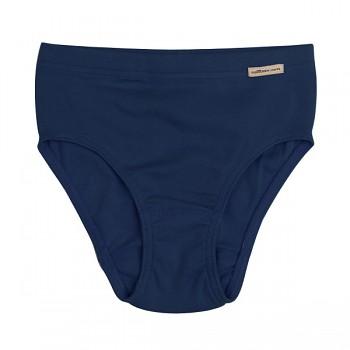 Comazo Earth dívčí kalhotky ze 100% biobavlny - tmavě modrá marine