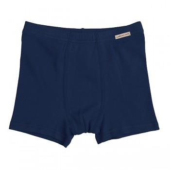 Comazo chlapecké boxerky ze 100% biobavlny - tmavě modrá marine