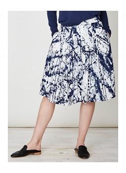 JACKSON dámská sukně ze 100% tencelu - modrá