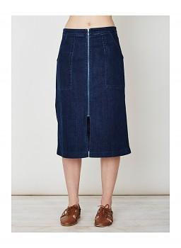AFREDA dámská sukně z denimu - modrá