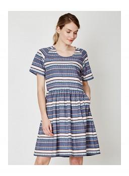 ABIGAIL dámské šaty z konopí a rayonu