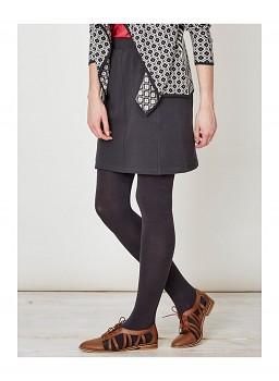 ADRIANNE dámská sukně z biobavlny - šedá uhlová