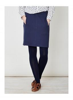 ADRIANNE dámská sukně z biobavlny - tmavě modrá navy